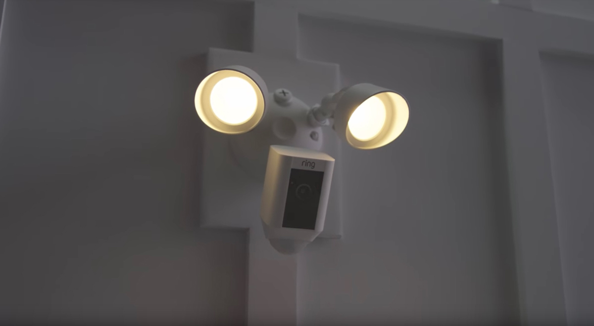Cool Product Alert Ring Floodlight Security Camera