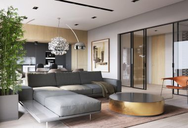 A Sleek Modern Home for a Stylish Young Family