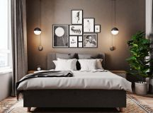 Unusual Home Layout with Creative Accent Colours images 10