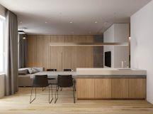 2 Single Bedroom Homes With Warming Wood Tones images 21