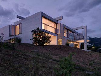architecture contemporary concrete cubic swiss tour bruno brundler buchner landmark houses helbling