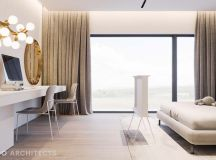 Ritzy UK Home with Glam Metallic Accents images 21
