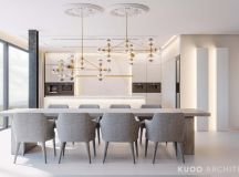 Ritzy UK Home with Glam Metallic Accents images 4