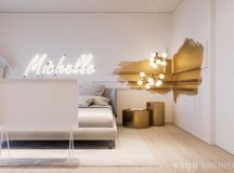 Ritzy UK Home with Glam Metallic Accents images 22
