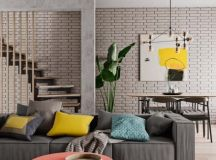 A Modest Sized Apartment That Makes The Best Use Of ...