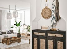 Modern Monochrome Tribal Decor images 31