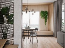 Unusual Home Layout with Creative Accent Colours images 6