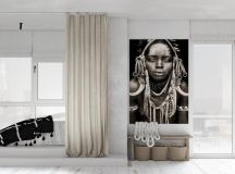 Modern Monochrome Tribal Decor images 9