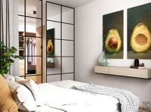 Unusual Home Layout with Creative Accent Colours images 11