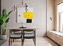 Unusual Home Layout with Creative Accent Colours images 5