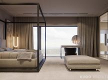 Ritzy UK Home with Glam Metallic Accents images 16