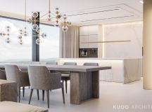 Ritzy UK Home with Glam Metallic Accents images 5