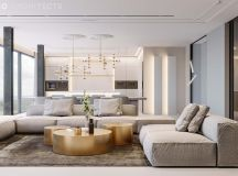 Ritzy UK Home with Glam Metallic Accents images 0