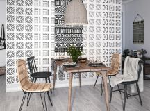 Modern Monochrome Tribal Decor images 19