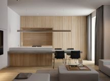 2 Single Bedroom Homes With Warming Wood Tones images 20
