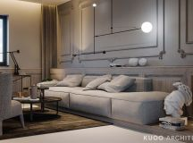 Ritzy UK Home with Glam Metallic Accents images 9