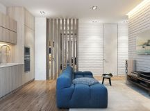 2 Single Bedroom Homes With Warming Wood Tones images 3
