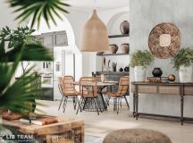 Modern Monochrome Tribal Decor images 28