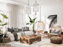 Modern Monochrome Tribal Decor images 25