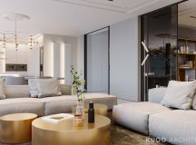 Ritzy UK Home with Glam Metallic Accents images 2