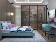2 Single Bedroom Homes With Warming Wood Tones images 7