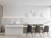 40 Minimalist Kitchens to Get Super Sleek Inspiration images 15