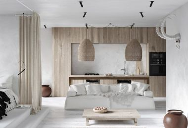 Modern Monochrome Tribal Decor