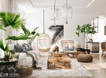 Modern Monochrome Tribal Decor images 26