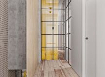 Unusual Home Layout with Creative Accent Colours images 8
