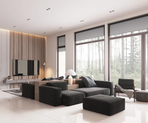 minimalist living room interior 40 Gorgeously Minimalist Living Rooms That Find Substance in Simplicity