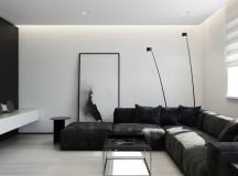 40 Gorgeously Minimalist Living Rooms That Find Substance in Simplicity images 12