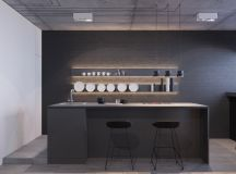 40 Minimalist Kitchens to Get Super Sleek Inspiration images 33