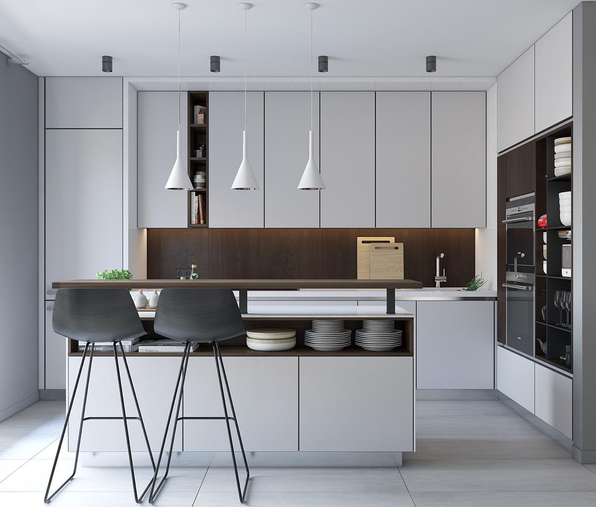 Kitchen Minimalist House Interior Design