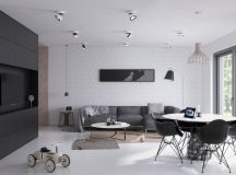 40 Gorgeously Minimalist Living Rooms That Find Substance in Simplicity images 35
