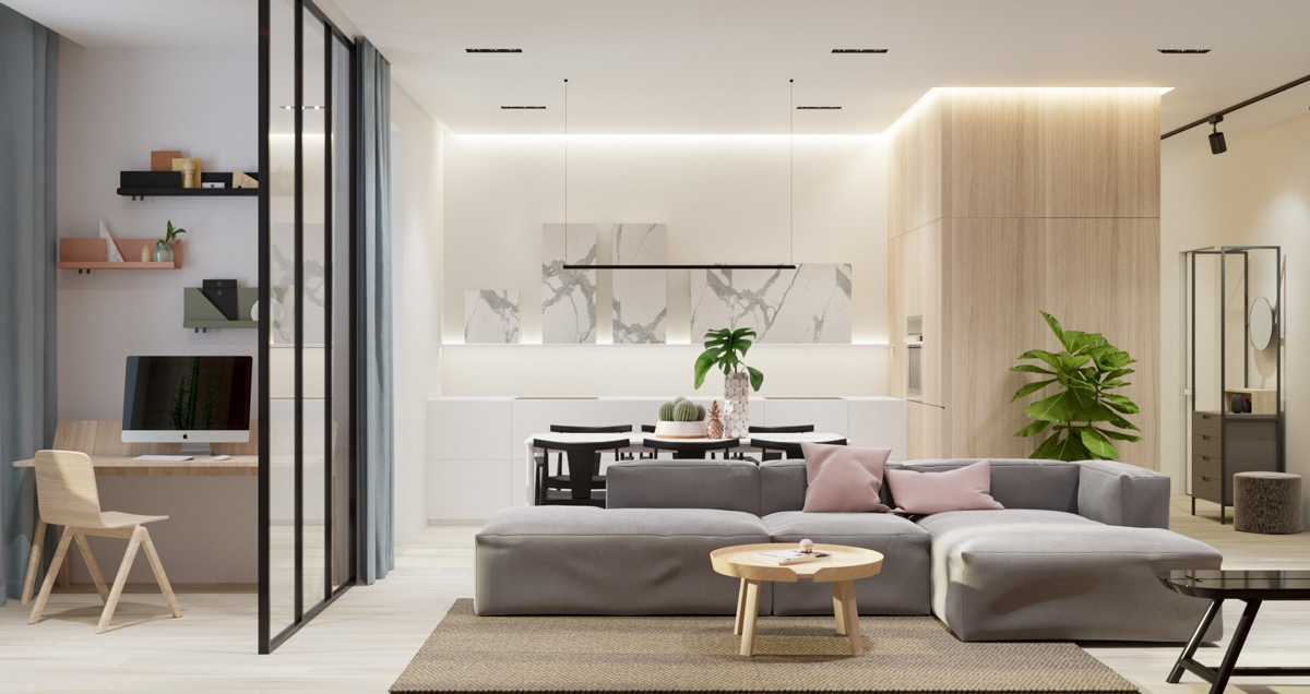 HOME DESIGNING 40 Gorgeously Minimalist Living Rooms That