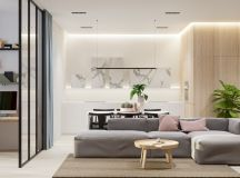 40 Gorgeously Minimalist Living Rooms That Find Substance in Simplicity images 29
