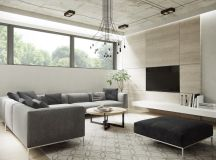 40 Gorgeously Minimalist Living Rooms That Find Substance in Simplicity images 20