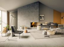 40 Stylish Living Rooms That Use Concrete To Stand Out images 16