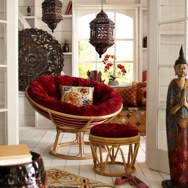 small papasan chair cushion hammock stand calgary 40 beautiful modern accent chairs that add splendour to your seating