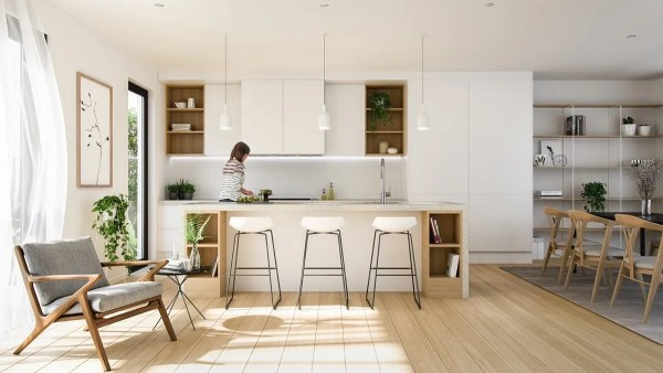 minimalist kitchen design ideas 40 Minimalist Kitchens to Get Super Sleek Inspiration