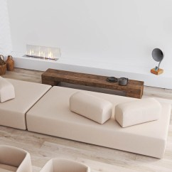 Minimal Sofa Design White And Loveseat 40 Gorgeously Minimalist Living Rooms That Find Substance In Simplicity 2