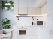 40 Minimalist Kitchens to Get Super Sleek Inspiration images 20