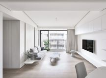 40 Gorgeously Minimalist Living Rooms That Find Substance in Simplicity images 9