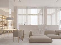 40 Gorgeously Minimalist Living Rooms That Find Substance in Simplicity images 0