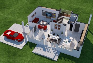 Cool Service Alert: A 3D Floor Plan Design Service From Home Designing!