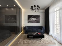 3 Modern Small Apartment Designs Under 50 Square Meters That Don't Sacrifice On Style [Includes Floor Plans] images 24