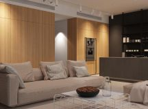 Using Dark Color Schemes For Small Homes: 3 Examples With Floor Plans images 24