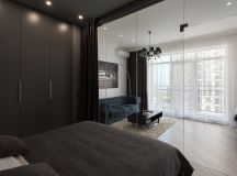 3 Modern Small Apartment Designs Under 50 Square Meters That Don't Sacrifice On Style [Includes Floor Plans] images 29