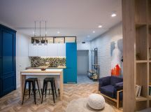 3 Modern Small Apartment Designs Under 50 Square Meters That Don't Sacrifice On Style [Includes Floor Plans] images 14