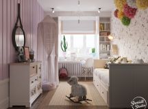 A Scandinavian Chic Style 3 Bedroom Apartment For A Young Family images 31